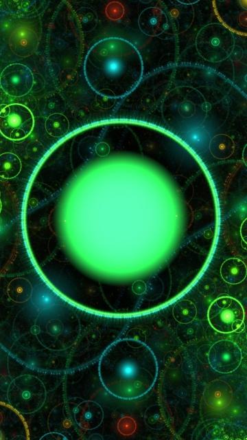 3D Green Circles para Nokia 5230