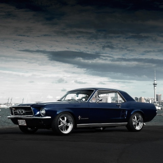 Free Ford Mustang 1967 Picture for iPad mini