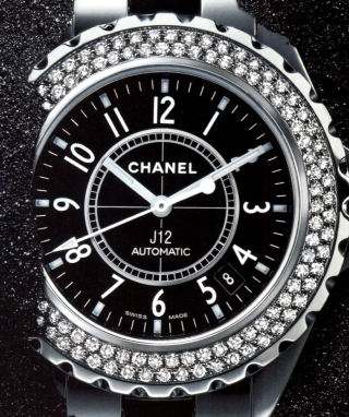 Chanel Diamond Watch Wallpaper for Nokia C1-01