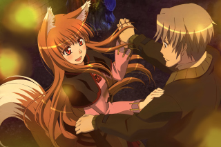 Minitokyo Spice And Wolf Wallpaper for Android, iPhone and iPad
