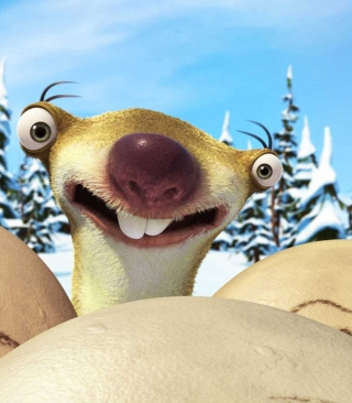 Ice Age Dawn of Dinosaurs Sloth sfondi gratuiti per Nokia Lumia 925