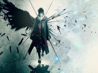 Naruto, Sasuke para Nokia Asha 201
