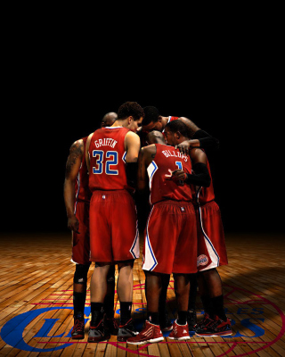 Los Angeles Clippers Background for 320x480