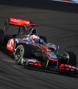 Free Jenson Button - Mclaren F1 Picture for Nokia C3-01