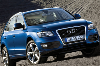 Audi Q5 Blue Picture for Android, iPhone and iPad