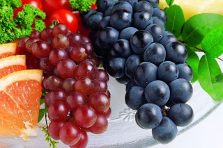 Grapes Wallpaper for Widescreen Desktop PC 1920x1080 Full HD