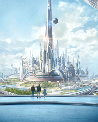 Tomorrowland Scientific Film Wallpaper for Nokia Asha 311