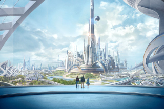 Tomorrowland Scientific Film Background for Android, iPhone and iPad