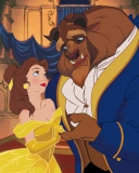 Screenshot №1 pro téma Beauty And The Beast 128x160