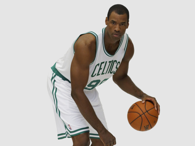 Screenshot №1 pro téma Jason Collins NBA Player in Boston Celtics 640x480