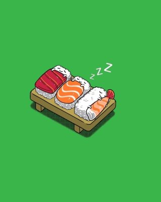 Sleeping Sushi Background for HTC Titan