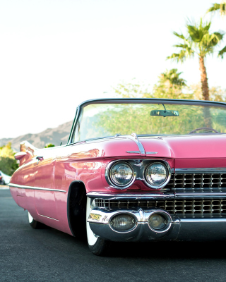 Cadillac Convertible 1959 sfondi gratuiti per iPhone 6 Plus