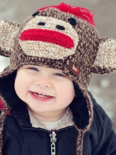 Screenshot №1 pro téma Cute Smiley Baby Boy 240x320