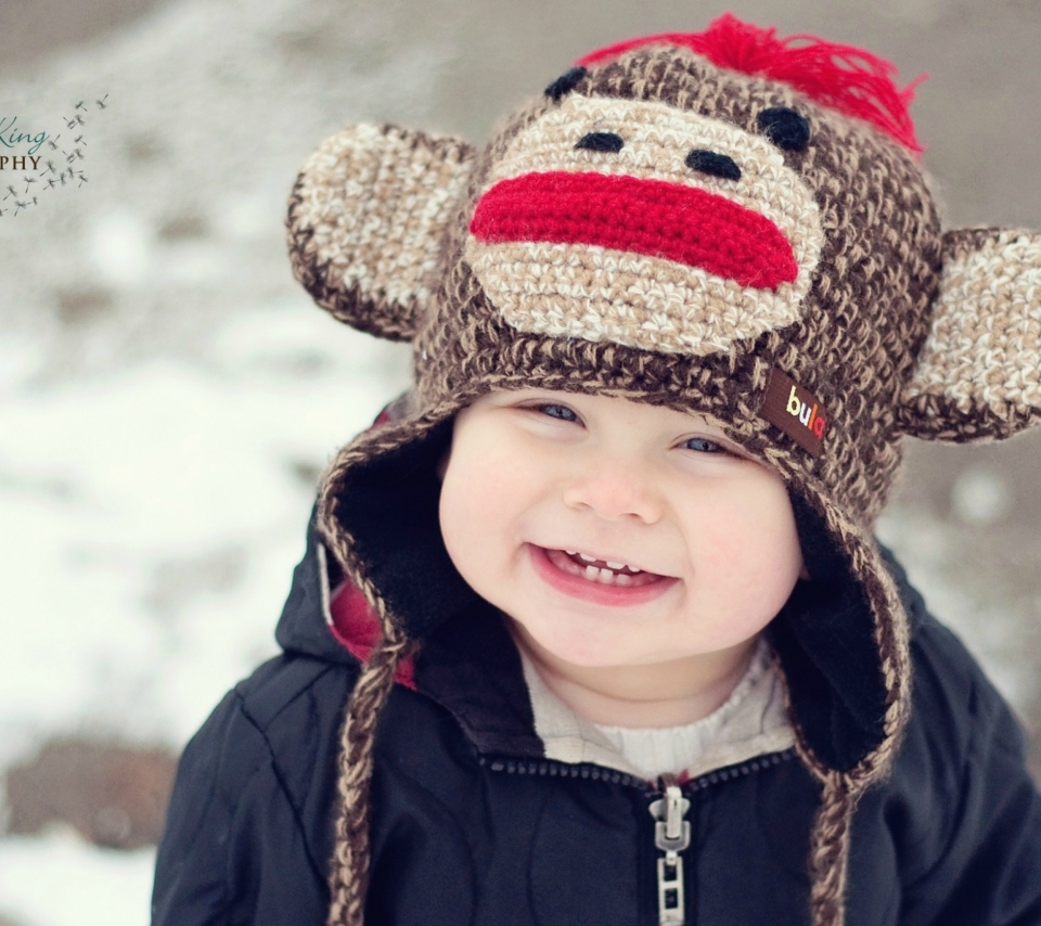 Screenshot №1 pro téma Cute Smiley Baby Boy 960x854