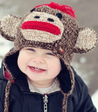 Free Cute Smiley Baby Boy Picture for 132x176