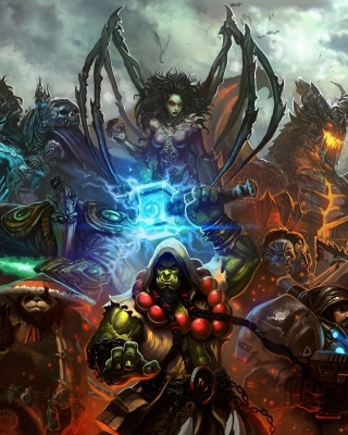 World of Warcraft Mists of Pandaria sfondi gratuiti per iPhone 6 Plus