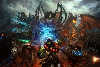 World of Warcraft Mists of Pandaria sfondi gratuiti per cellulari Android, iPhone, iPad e desktop