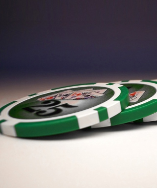 Texas Holdem Poker Chips Picture for iPhone 5C