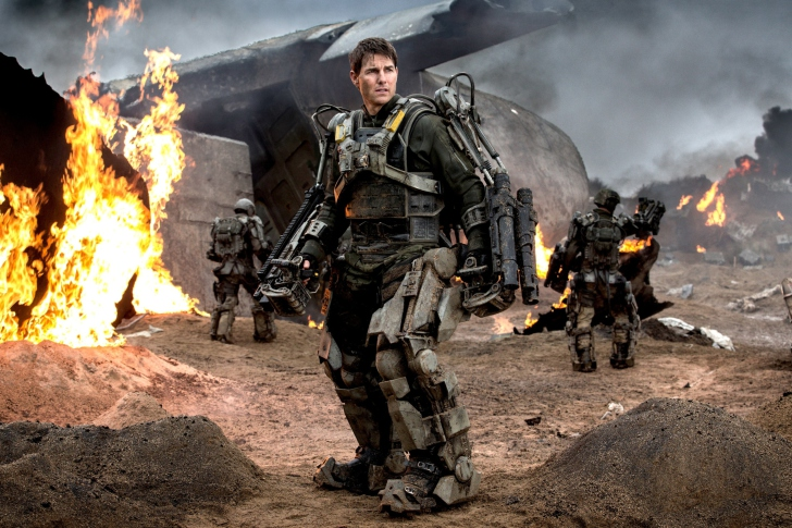Edge Of Tomorrow With Tom Cruise wallpaper