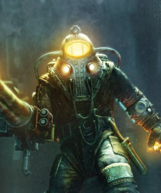 BioShock 2 sfondi gratuiti per iPhone 6 Plus