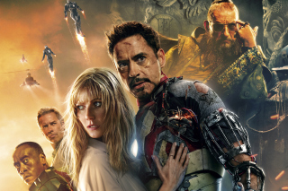 Iron Man 3 Robert Downey Jr - Fondos de pantalla gratis