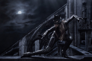 Catwoman DC Comics Background for Sony Xperia E1