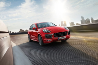 Porsche Cayenne GTS Background for Android, iPhone and iPad