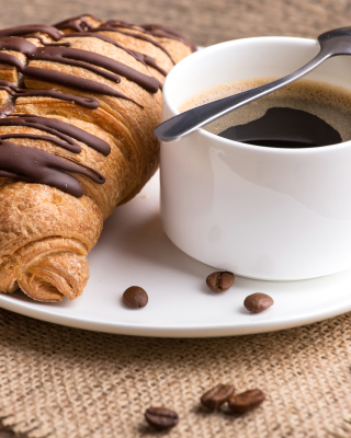 Breakfast with Croissant sfondi gratuiti per 750x1334
