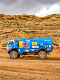 Kamaz Rally Car wallpaper 240x320