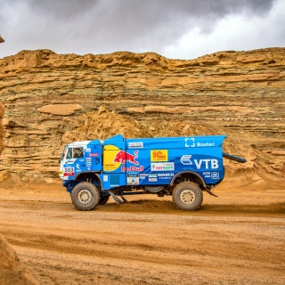 Kamaz Rally Car sfondi gratuiti per iPad mini