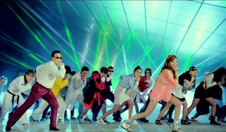 Gangnam Dance Background for Android, iPhone and iPad