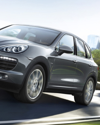 Porsche Cayenne Diesel Wallpaper for Nokia C1-01