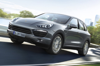 Porsche Cayenne Diesel Background for Android, iPhone and iPad