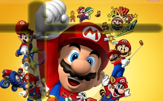 Free Mario Picture for Samsung Galaxy Tab 7.7 LTE