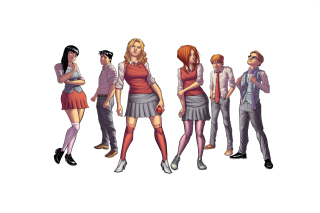 Morning Glories, Image Comics Wallpaper for Android, iPhone and iPad