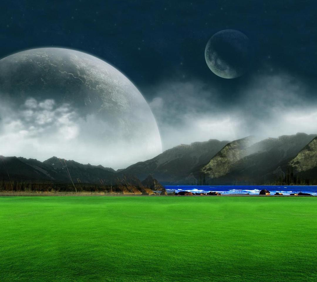 Moon Landscape para Motorola RAZR XT910