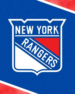New York Rangers Logo sfondi gratuiti per iPhone 4