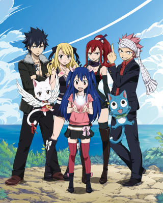 Fairy Tail (Guild) - Fiore Kingdom Wallpaper for HTC Titan