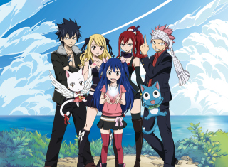 Fairy Tail (Guild) - Fiore Kingdom Picture for Android, iPhone and iPad