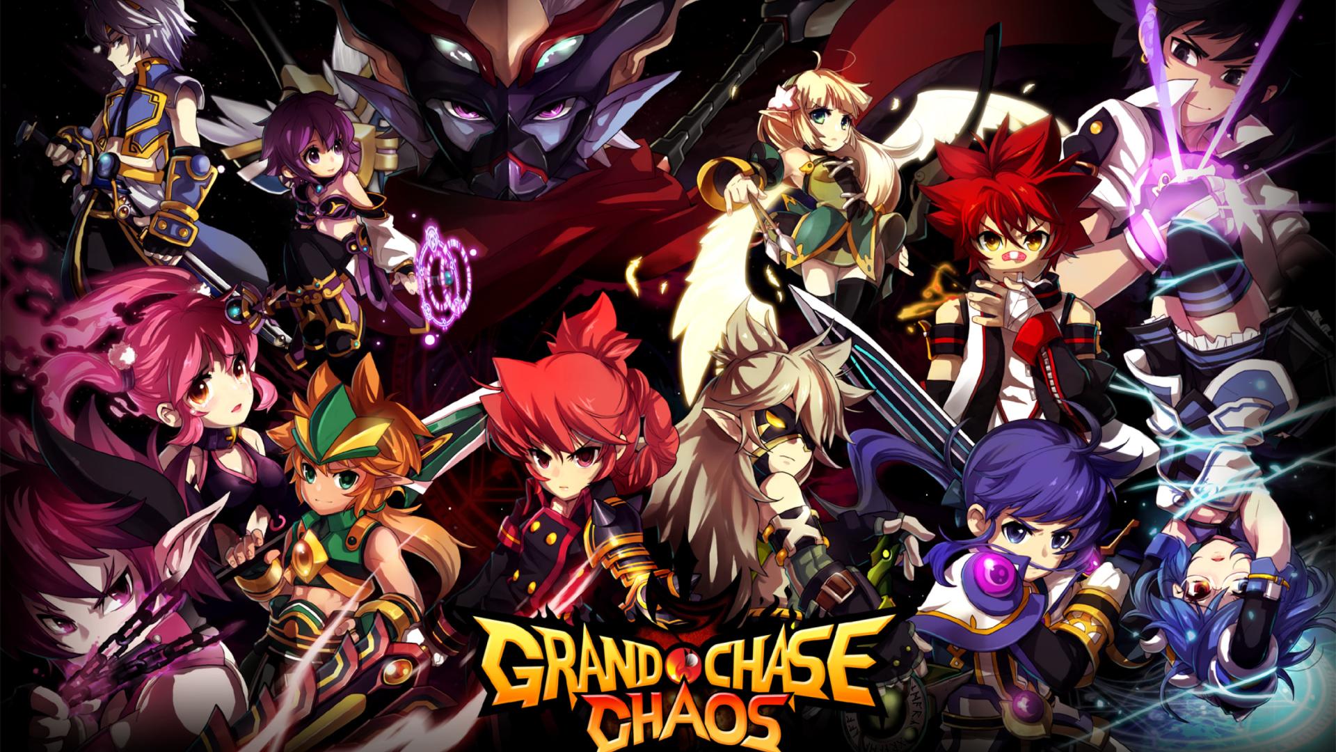 Grand Chase: Imagem promocional da quarta temporada, tida como uma das melhores do jogo.