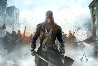 Assassin's Creed Unity sfondi gratuiti per Fullscreen Desktop 800x600