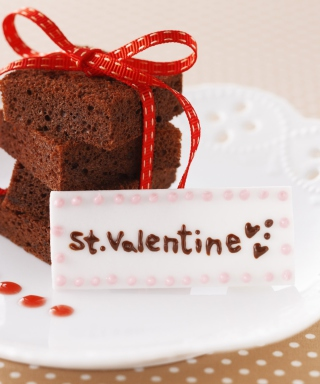 St Valentine Cake Picture for 640x1136