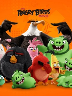 Screenshot №1 pro téma Angry Birds the Movie Release by Rovio 240x320