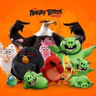 Картинка Angry Birds the Movie Release by Rovio для телефона и на рабочий стол iPad mini 2