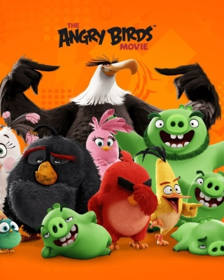 Kostenloses Angry Birds the Movie Release by Rovio Wallpaper für 240x320