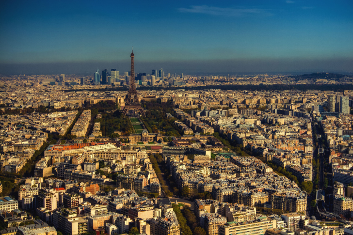 Paris Panoramic wallpaper
