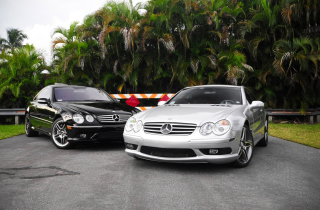 Free Compact Luxury Mercedes-Benz Picture for Android, iPhone and iPad