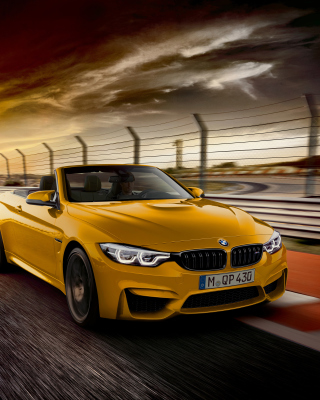 BMW M4 Convertible sfondi gratuiti per iPhone 6 Plus