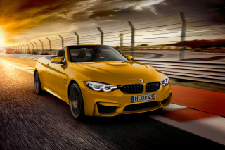 BMW M4 Convertible Wallpaper for Android, iPhone and iPad