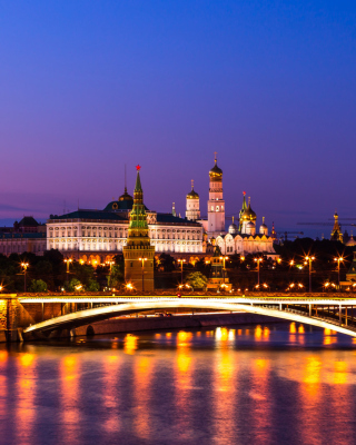 Moscow Kremlin Wallpaper for 176x220